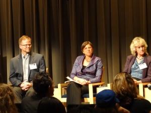 Kevin Folta, Pamela Ronald, and Alison Van Eenennaam discuss the safety of GE foods